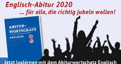 Englisch-Abitur 2020