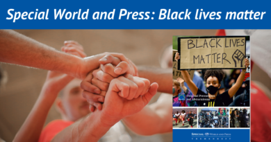 Special World and Press: Black lives matter